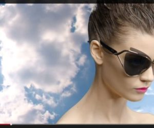 Dior Audacieuse sunglasses video