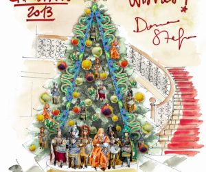 Dolce and Gabbana Christmas tree