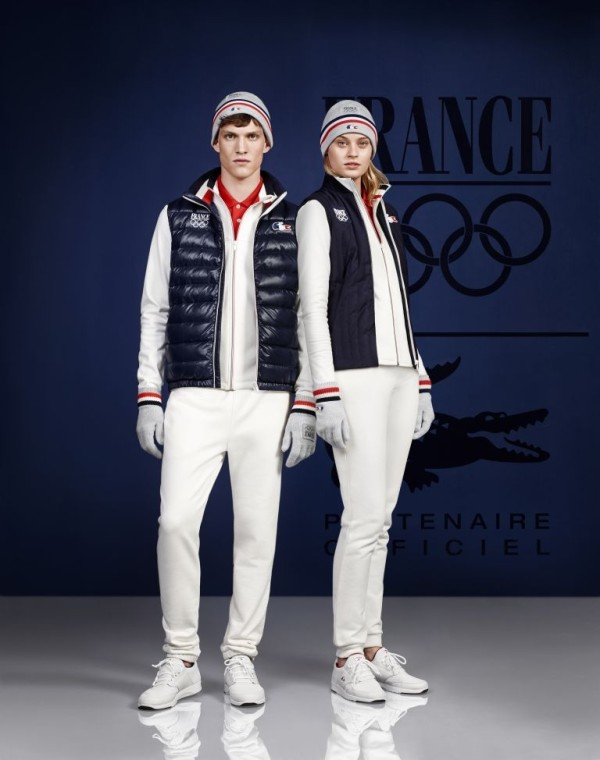 Lacoste French Olympic team 2014