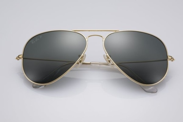Ray-Ban offers Aviator shades in solid 18K gold