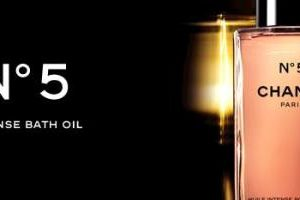 chanel no5 bath oil