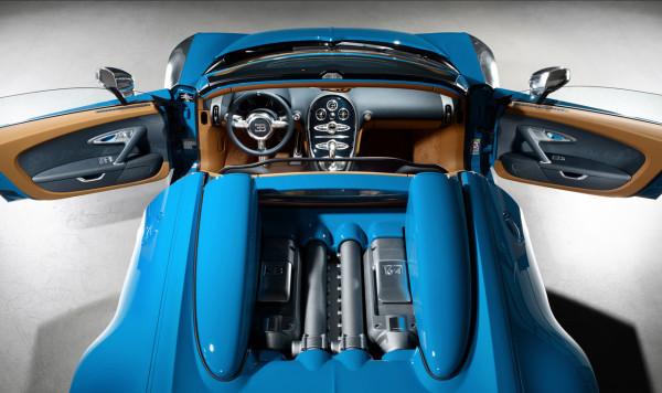 Bugatti Veyron Legend Meo Constantini interior