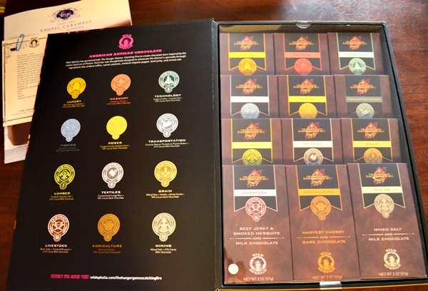 Hunger Games Chocolate Sets