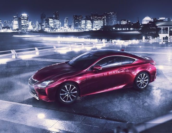 lexus debuts new sports coupe