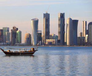 Qatar Doha Skyline