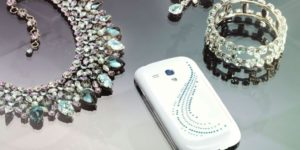 Samsung Galaxy SIII Mini Swarovski crystal edition