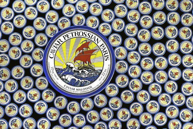 10kg can Petrossian caviar