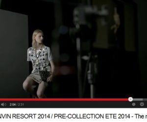 Lanvin Resort 2014 campaign video
