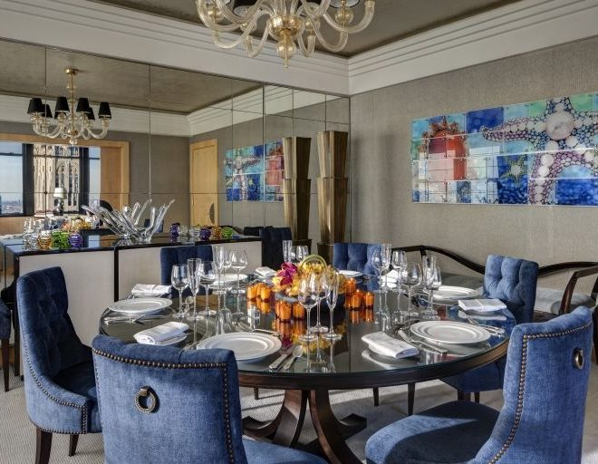 New York Palace suite dining room
