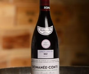 Romanee Conti 2004 bottle