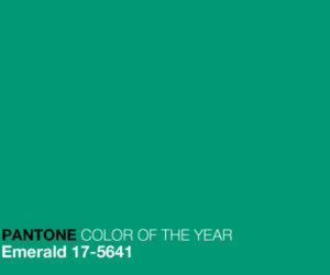 emerald pantone