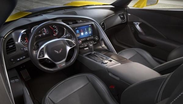 Chevrolet Corvette Z06 interior