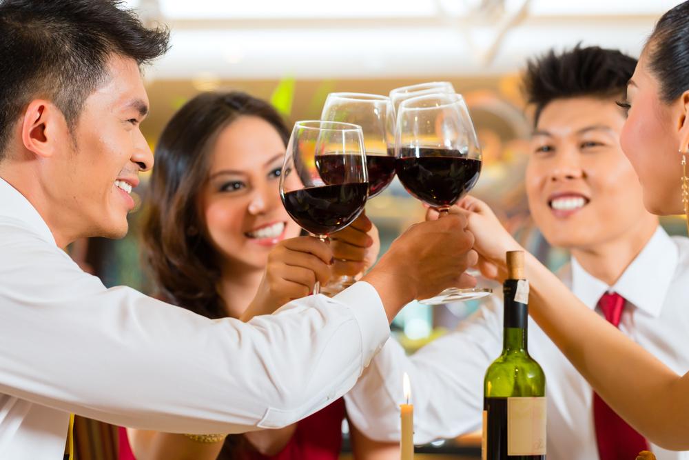 Chinese drinking wine