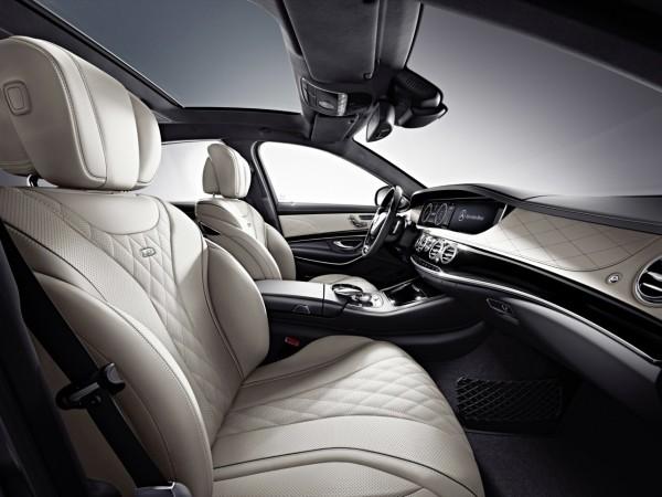 Mercedes-Benz S600 Interior
