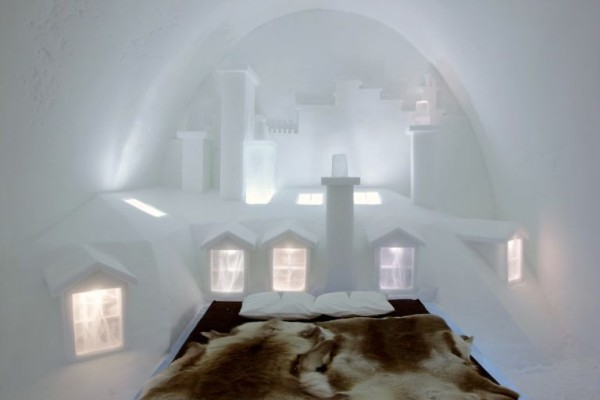 Paris suite Ice Hotel