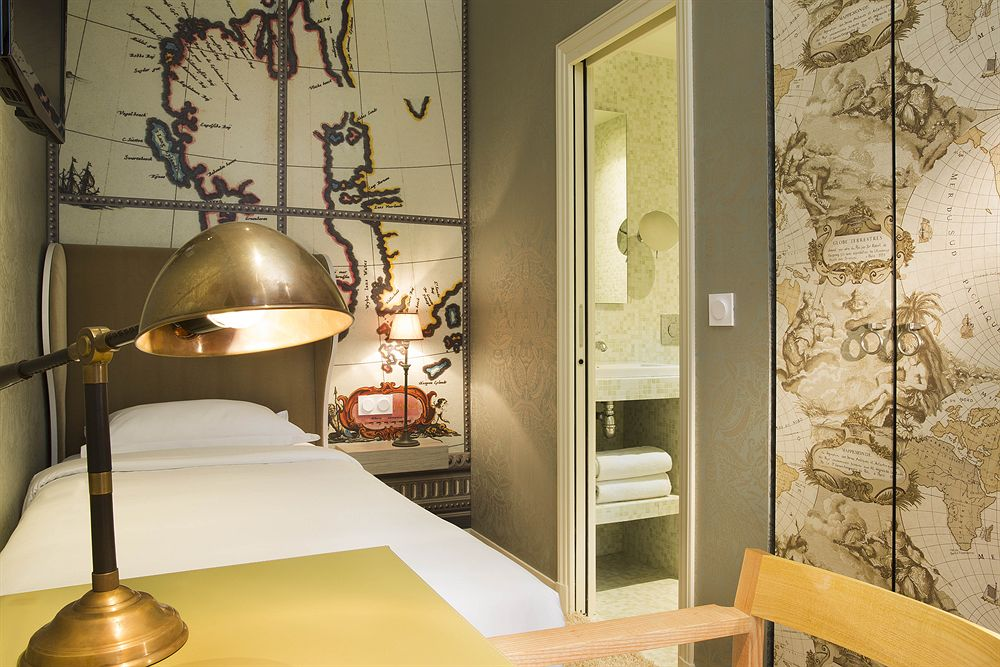 new paris hotel designed by christian lacroix. Black Bedroom Furniture Sets. Home Design Ideas