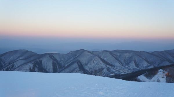 ski grounds North Korea