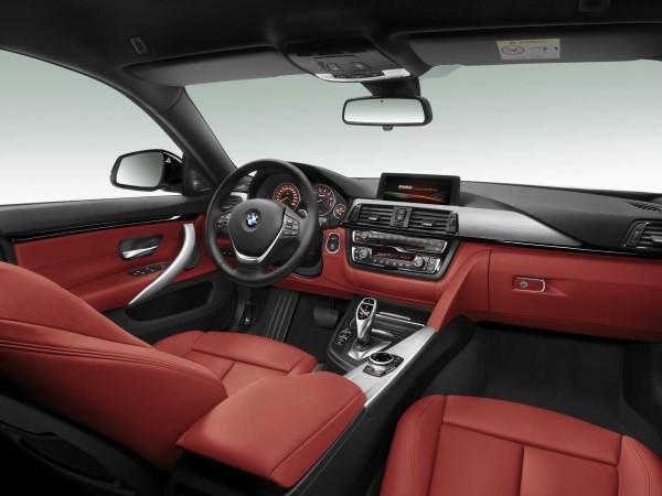 BMW 4 Series Gran Coupe interior