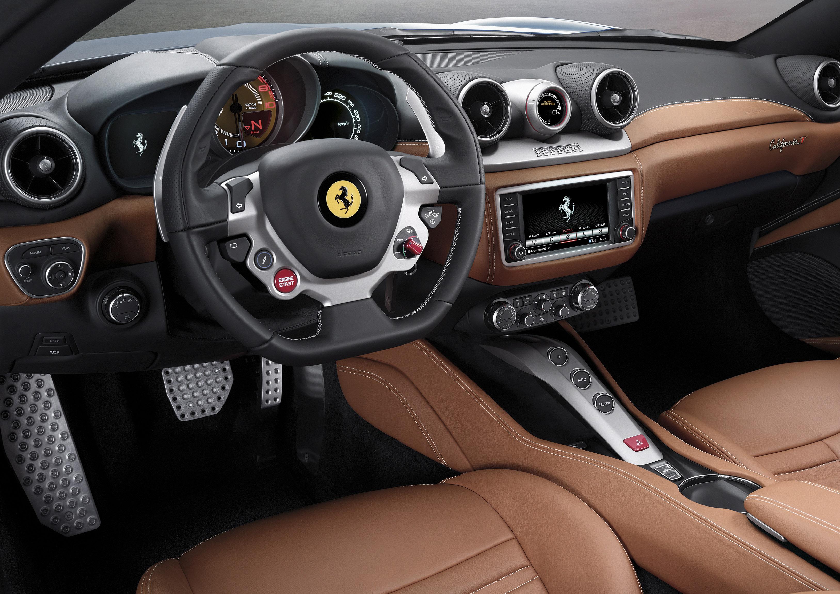 Ferrari California T interior - LUXUO