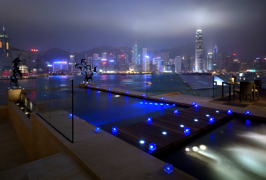 InterContinental Hong Kong infinity pool