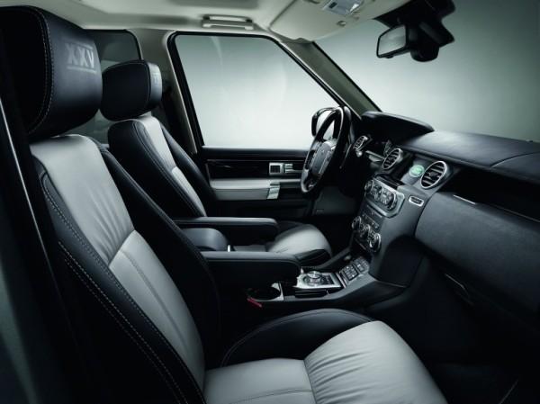 Land Rover Discovery XXV Edition Interior