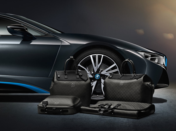 Louis Vuitton luggage for BMW i8