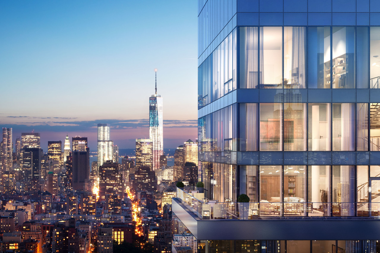 Manhattan condo building One Madison