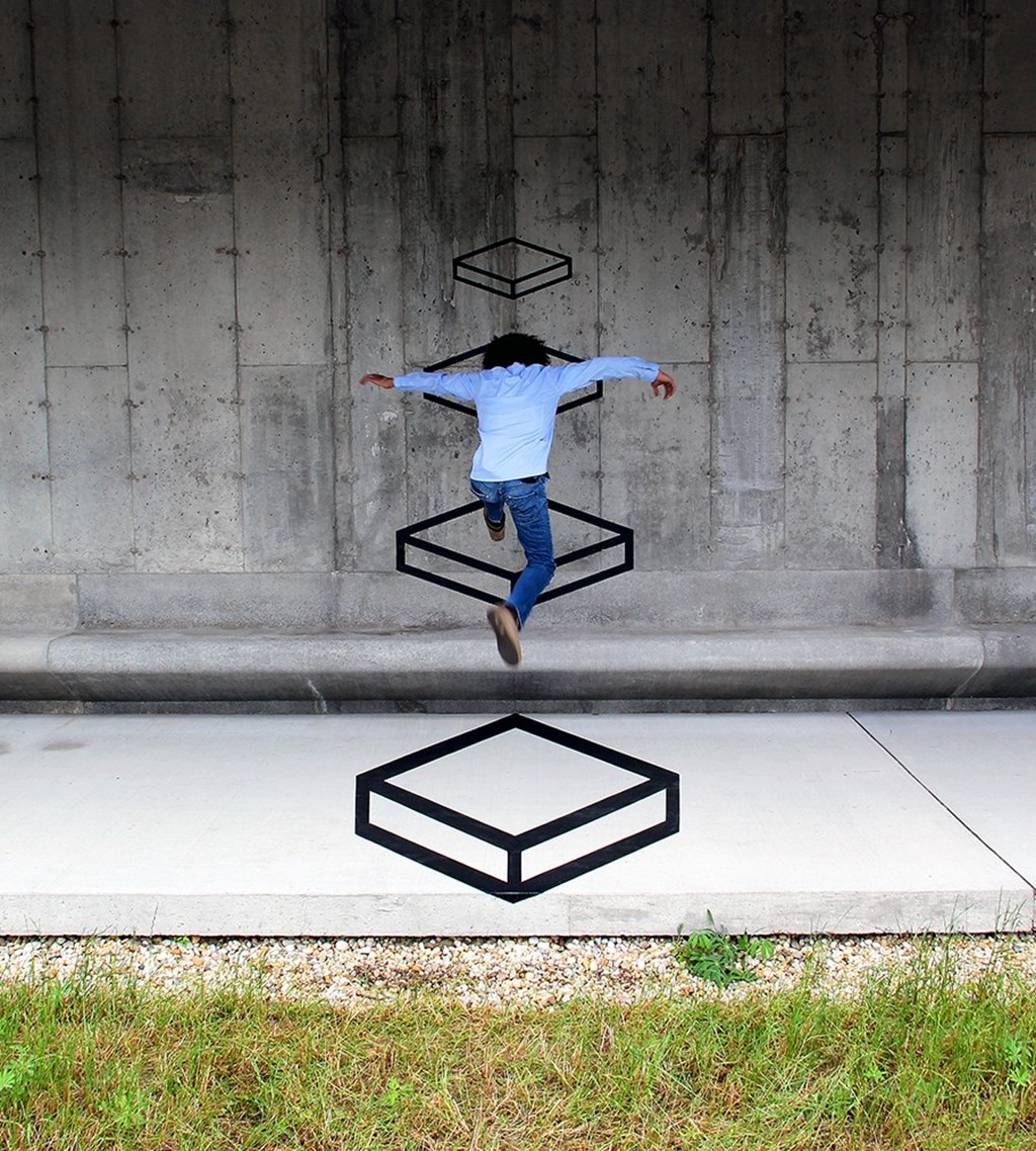 A New Dimension Of Observational Street Art 9