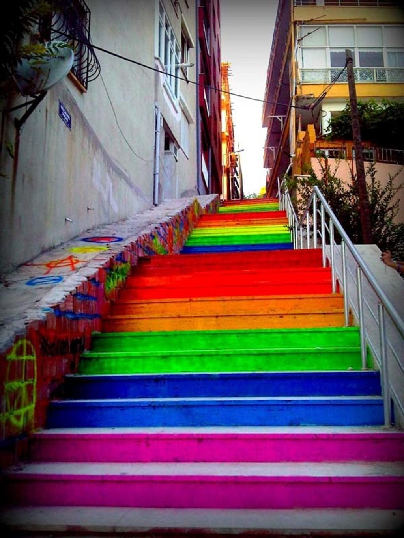 Rainbow Stairways 1