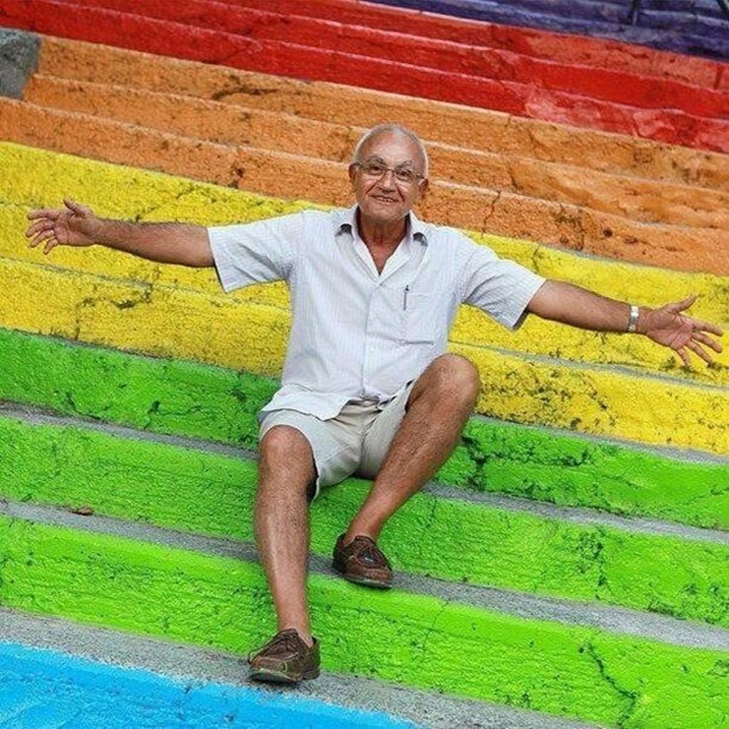 Rainbow Stairways 10