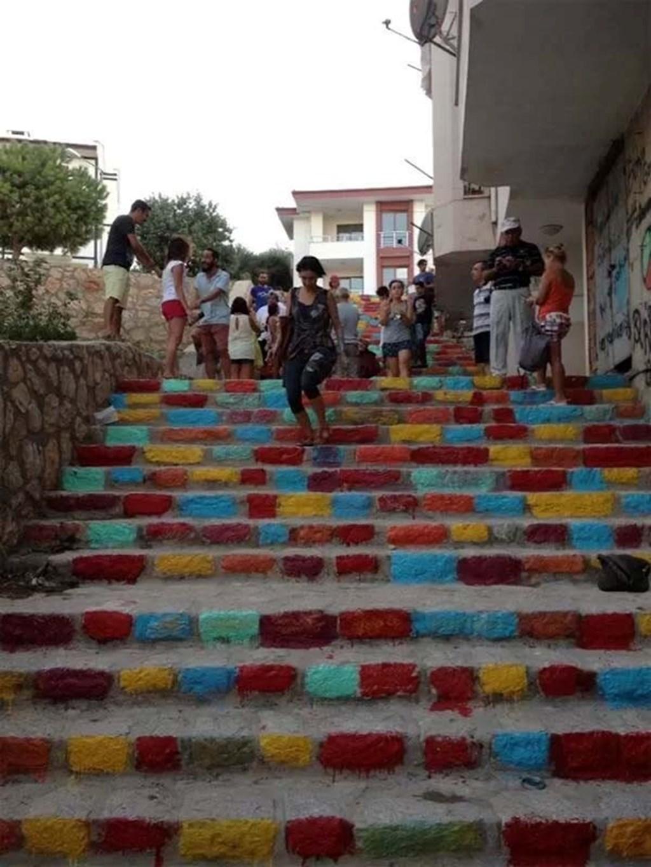 Rainbow Stairways 8