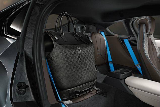Bmw I8 Interior Louis Vuitton Luggage