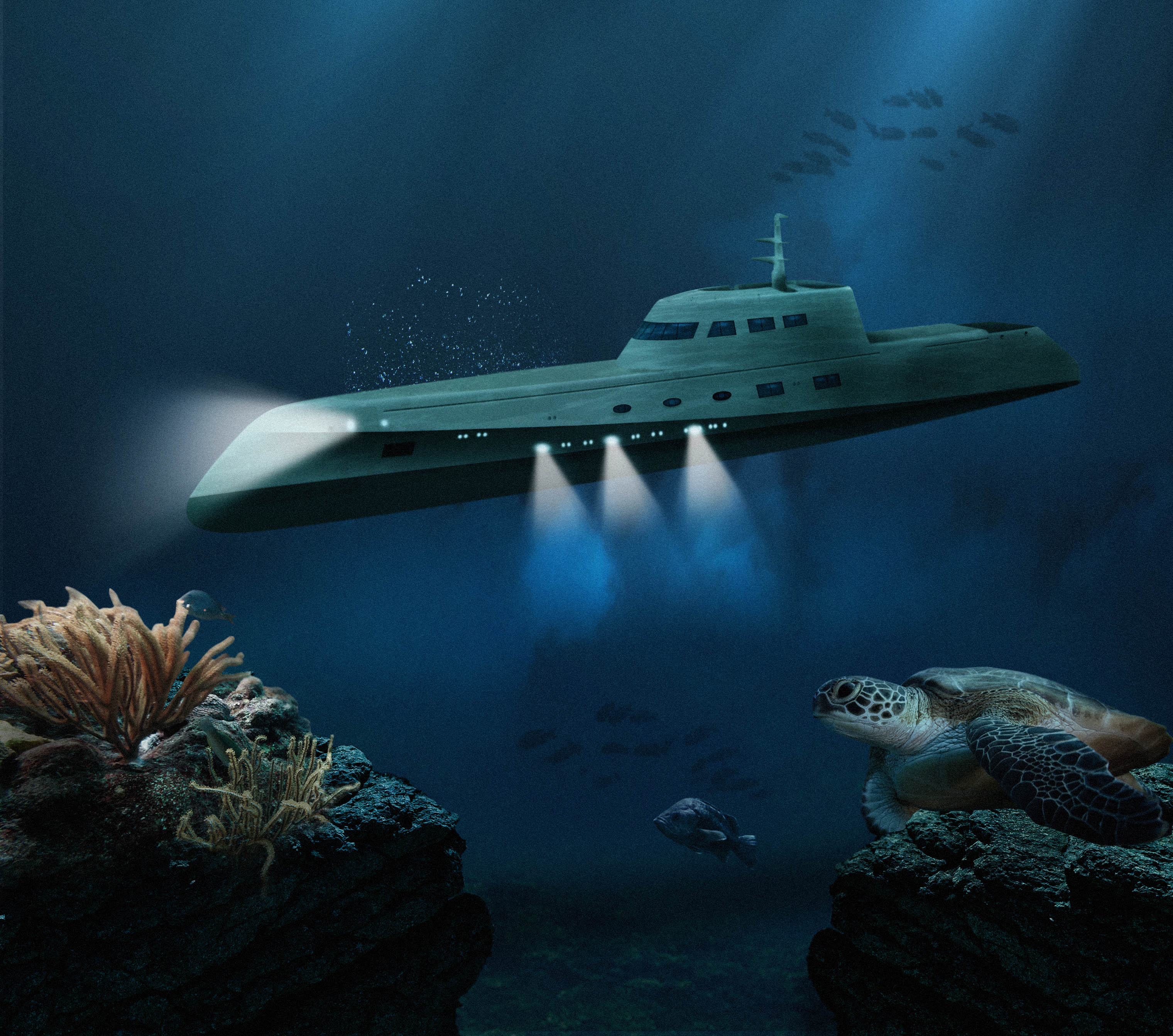 lovers Deep luxury submarine hotel