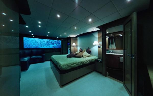 luxury submarine bedroom