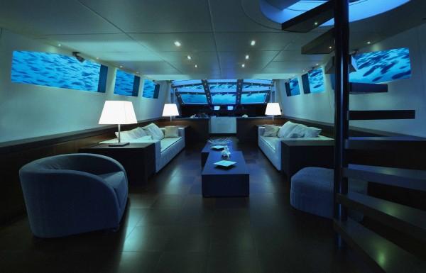 luxury submarine lounge