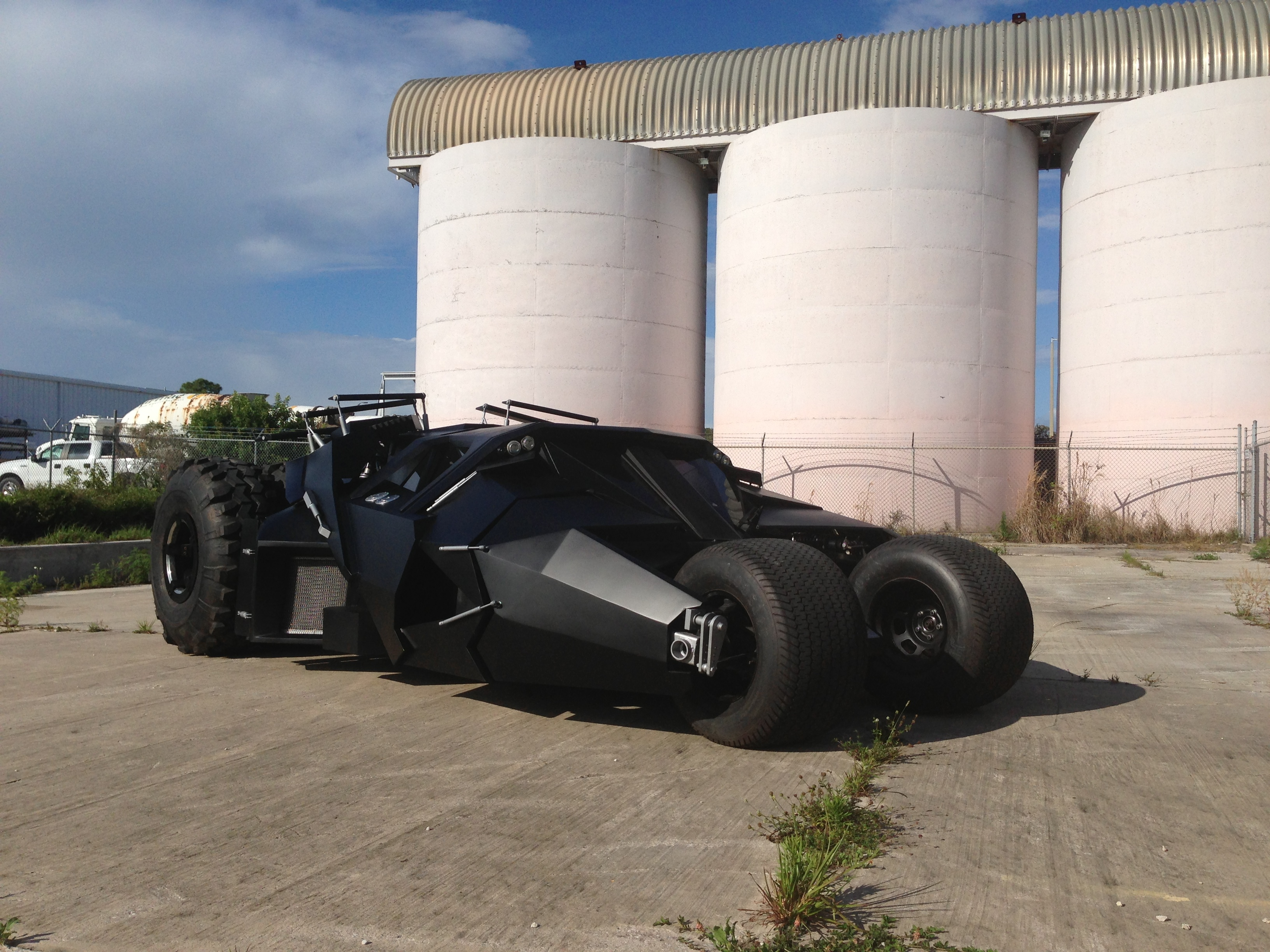 Batmobile Tumbler Replica
