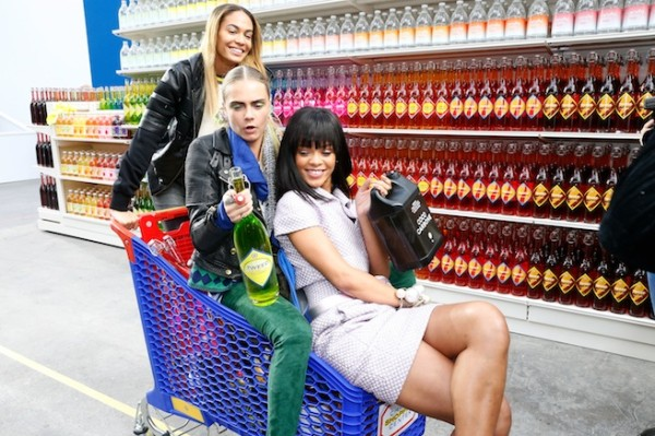 Chanel Supermarket rihanna
