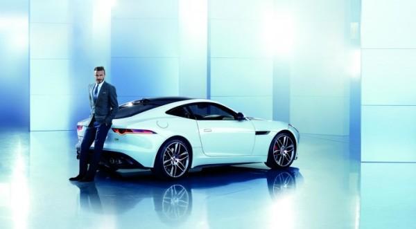 David Beckham teams up with Jaguar