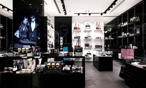 Karl Lagerfeld London store interior