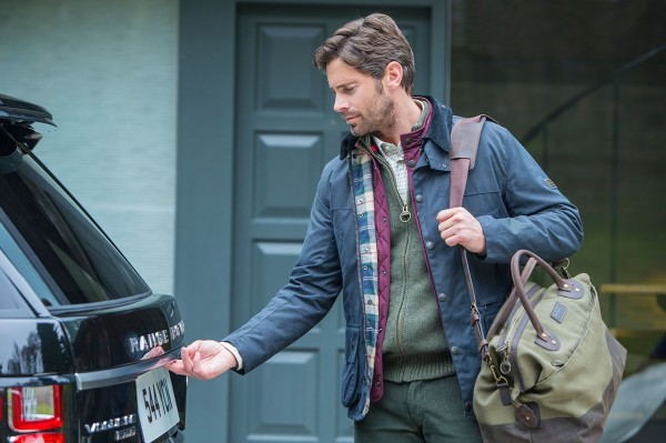 Land Rover Teams Up with Barbour