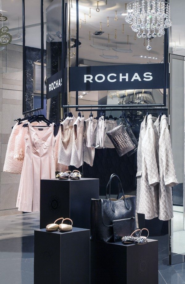 The Rochas pop-up at Galleries Lafayette