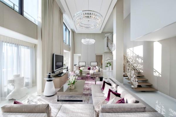 Suite at the Mandarin Oriental Paris