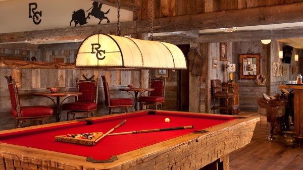 The Ranch at Rock Creek pool table