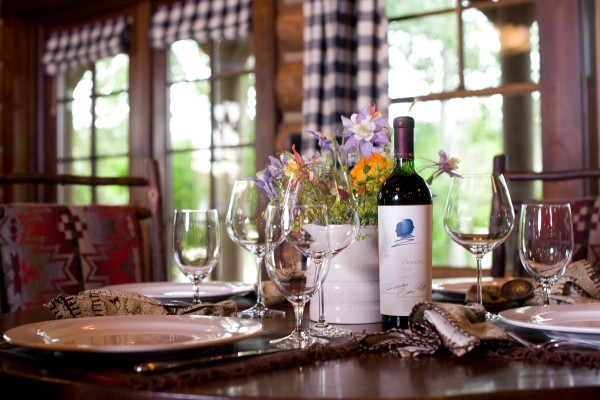 The Ranch at Rock Creek table