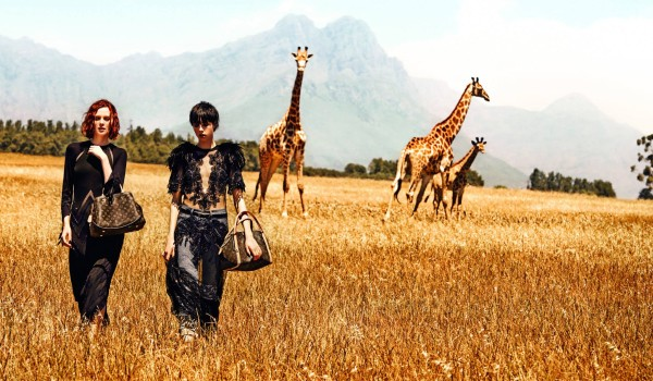 The Spirit of Travel campaign Louis Vuitton