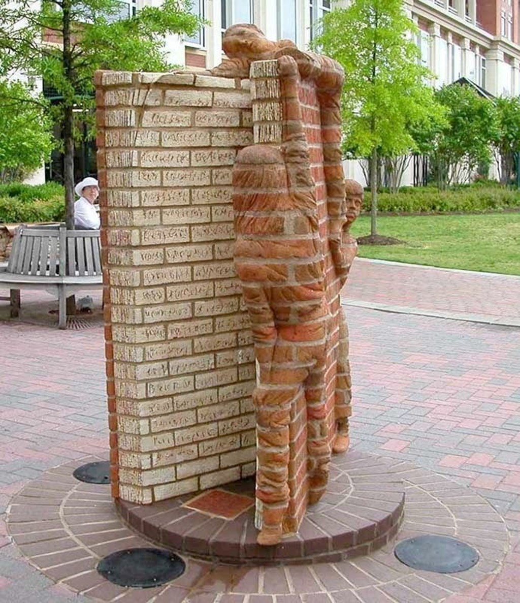 Brick Sculptures By Brad Spencer 10
