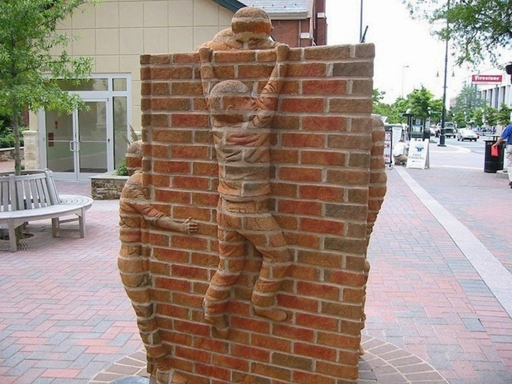 Brick Sculptures By Brad Spencer 12
