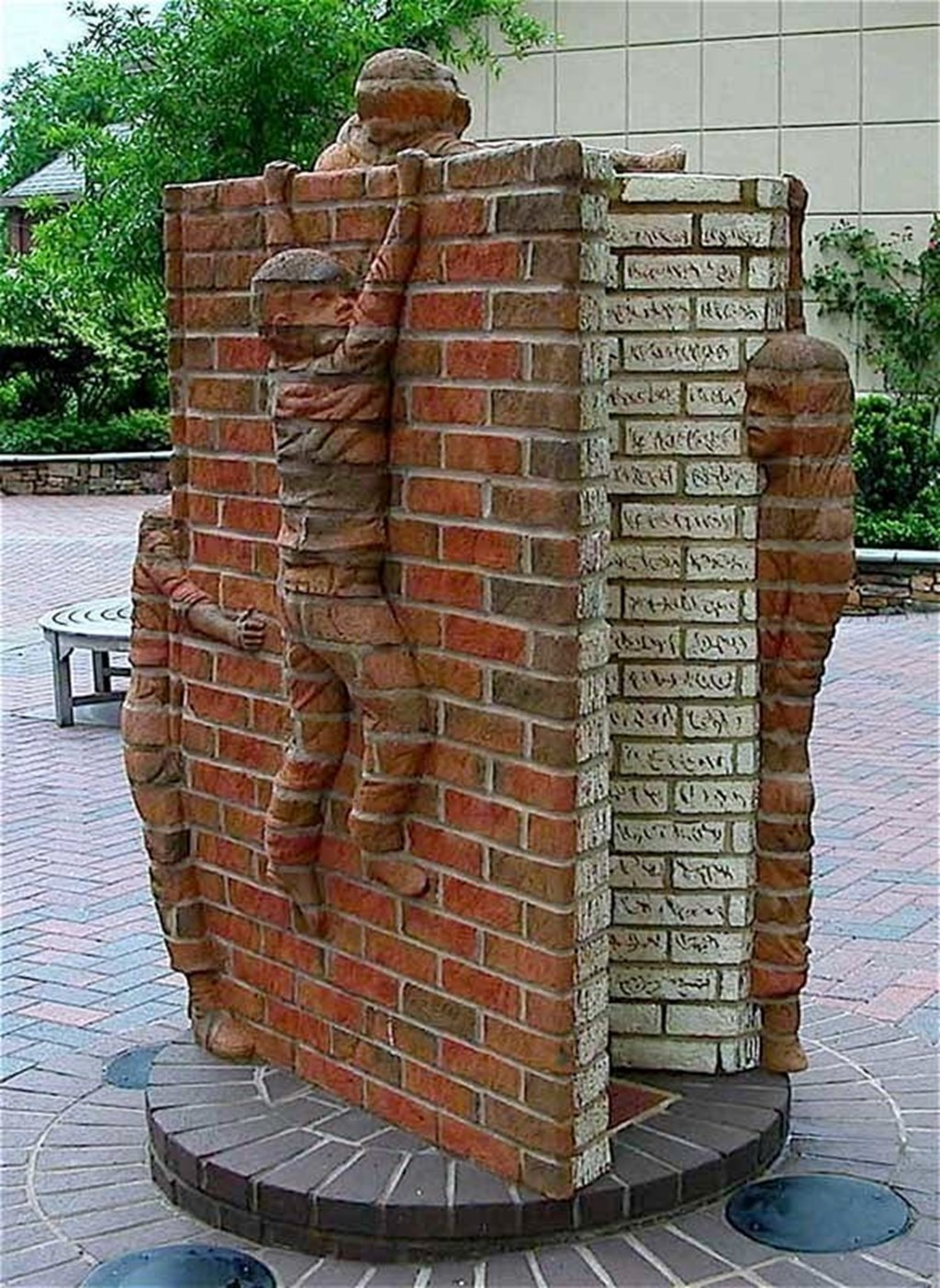 Brick Sculptures By Brad Spencer 5