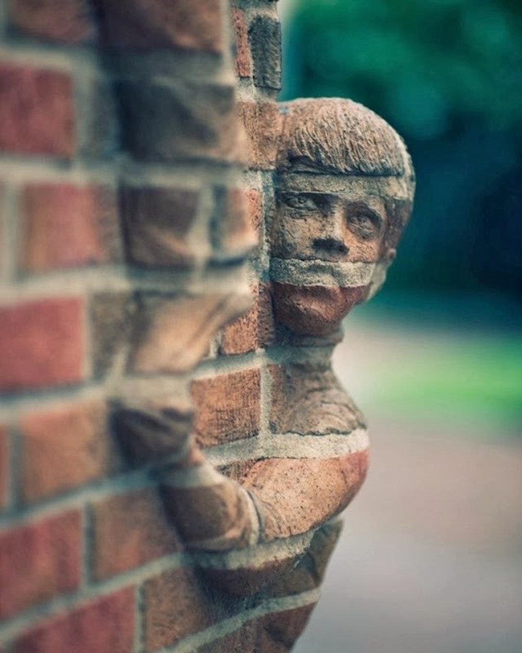 Brick Sculptures By Brad Spencer 9