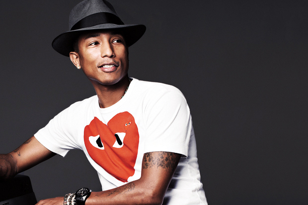 pharrell williams comme des garcons